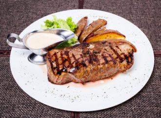 Scotch Sirloin With Whisky Sauce